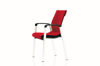 Modus Basic  266/7 Visitor chair  by  Wilkhahn