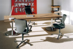 Travis 661/6 Free-standing table  by  Wilkhahn