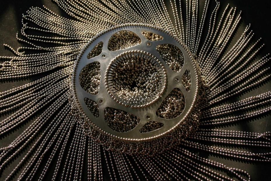 SML Circular Cropped Pendant