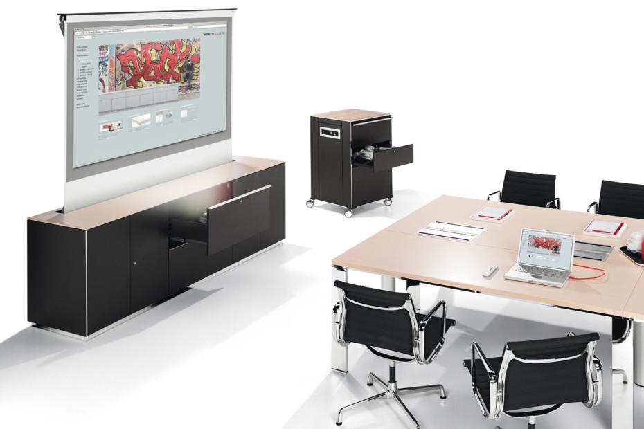 winea matrix multimedia sideboard von wini stylepark. Black Bedroom Furniture Sets. Home Design Ideas