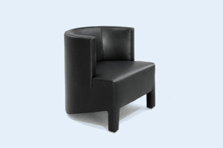 Mokka Armchair with legs  by  Wittmann