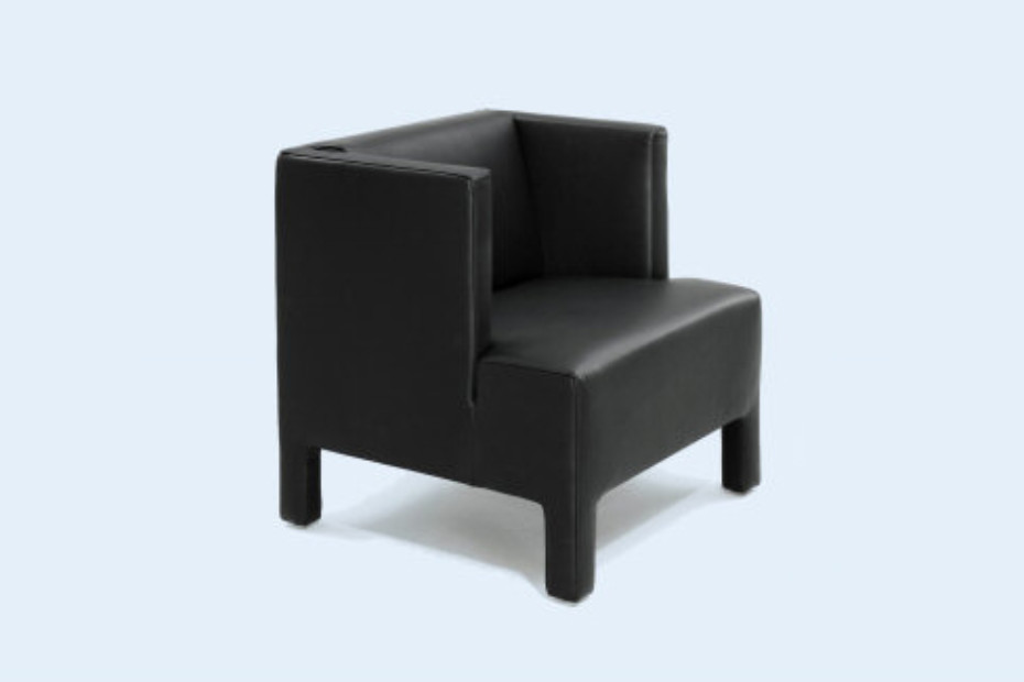 Mokka Armchair with legs