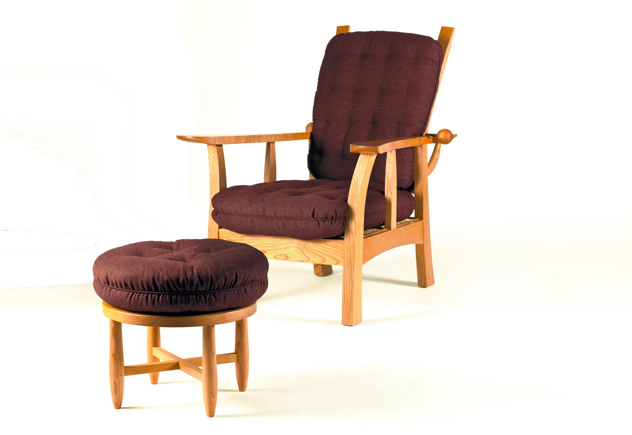 kanadier sessel von wohnkultur 66 stylepark. Black Bedroom Furniture Sets. Home Design Ideas