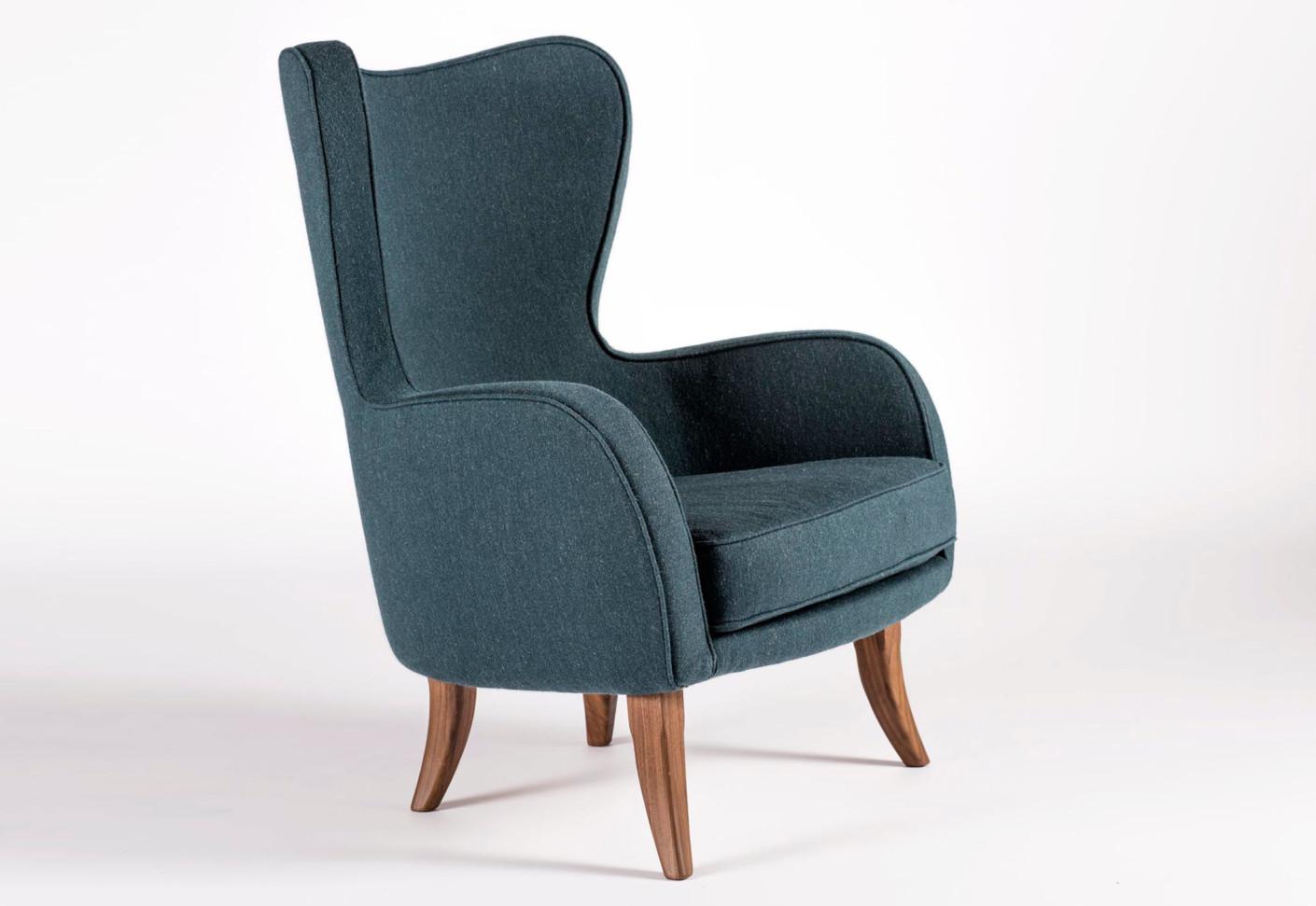 schwadron hiback sessel von wohnkultur 66 stylepark. Black Bedroom Furniture Sets. Home Design Ideas