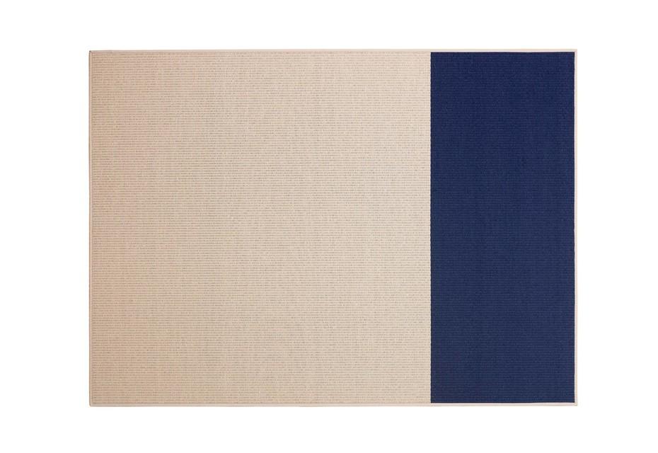 BEACH grau/ blau