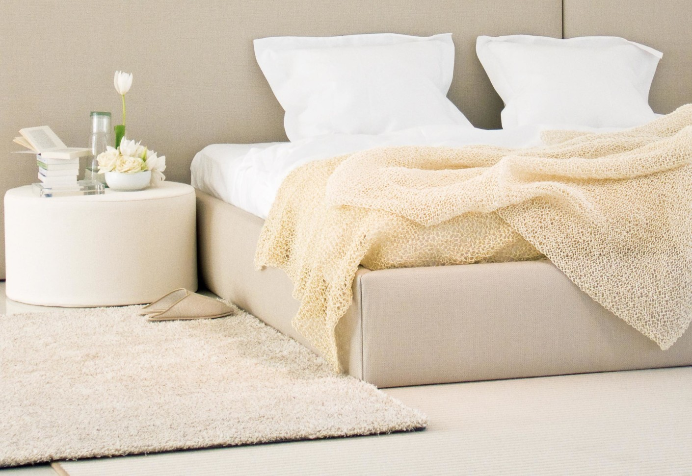 Woodnotes bed concept von woodnotes stylepark for Concept beds
